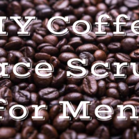 DIY Coffee Face Scrub for Men