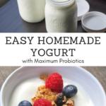 Recipe: How to Make Homemade Yogurt for Maximum Probiotics