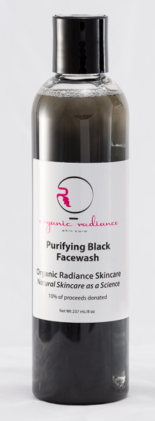 activated charcoal face wash